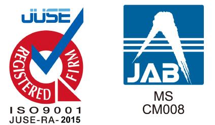 ISO承認SJNK15-80057,JAB CM008